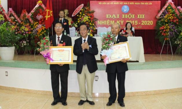 Đại hội Hội Liên lạc với người Việt Nam ở nước ngoài tỉnh khóa III, nhiệm kỳ 2015 - 2020.