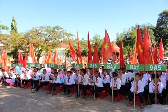 Huyện Krông Bông: Sáp nhập một số cơ sở giáo dục