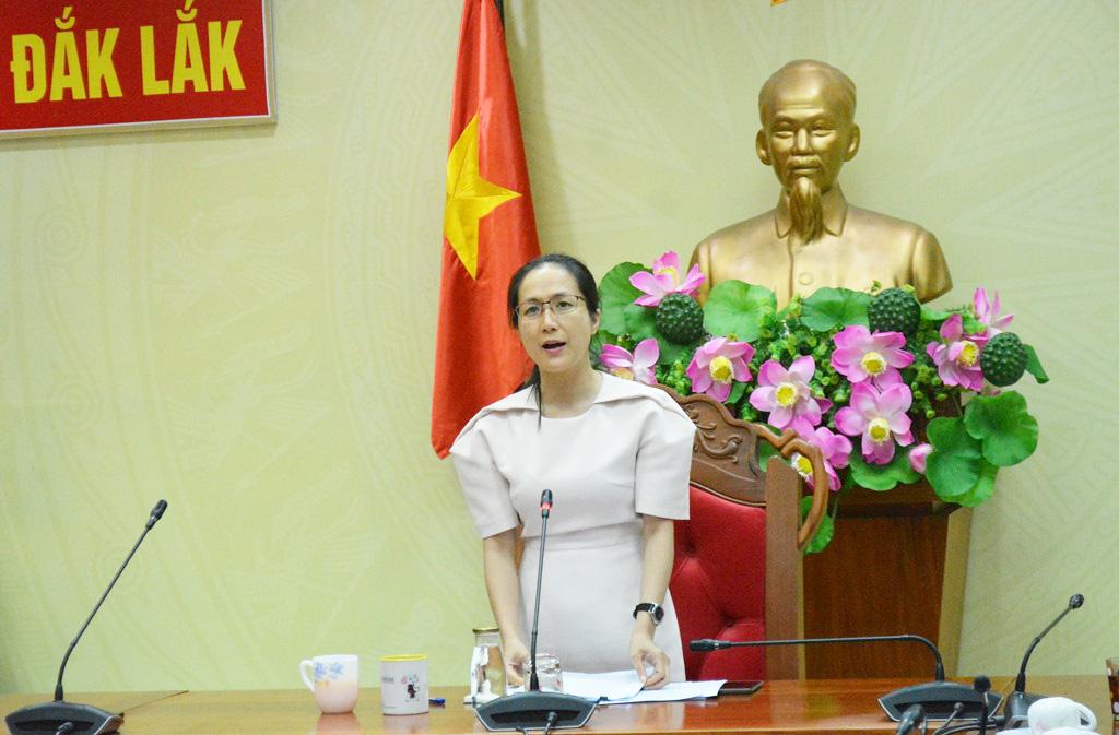Tổ công tác của Chủ tịch UBND tỉnh làm việc với UBND huyện Cư Kuin