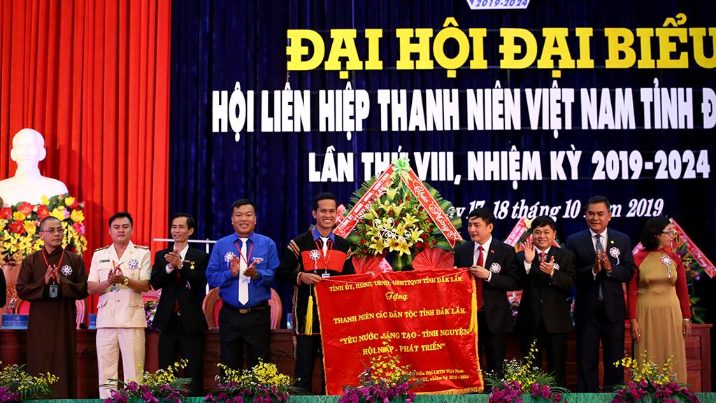 Đại hội đại biểu Hội Liên hiệp Thanh niên Việt Nam tỉnh Đắk Lắk lần thứ VIII