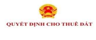 Cho phép Công ty TNHH MTV quản lý công trình Thủy lợi Đắk Lắk thuê đất