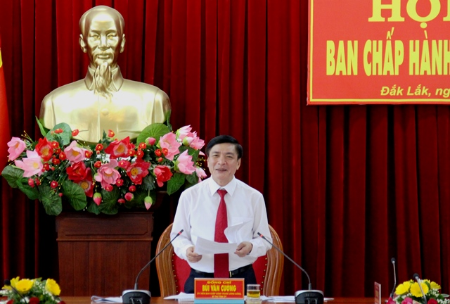Hội nghị Ban Chấp hành Đảng bộ tỉnh lần thứ 25 (mở rộng)