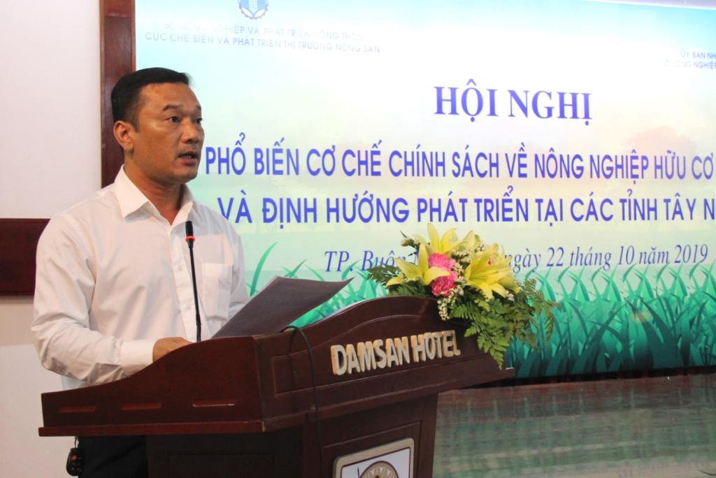 Phổ biến chính sách về nông nghiệp hữu cơ Việt Nam và định hướng phát triển tại các tỉnh Tây Nguyên