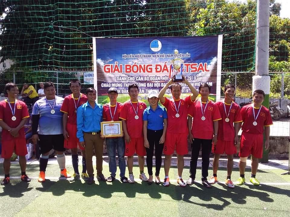 Sôi nổi giải bóng đá Futsal dành cho cán bộ Đoàn, Hội, Đội năm 2019