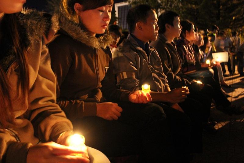 Trường học dành 01 phút tưởng niệm nạn nhân tử vong vì tai nạn giao thông
