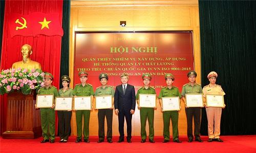 """Công an tỉnh Đắk Lắk xếp hạng """"Xuất sắc"""" về chỉ số cải cách hành chính"""