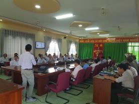 """UBND huyện Ea H'Leo  tập huấn """" Phòng họp không giấy tờ VNPT – eCabinet"""""""