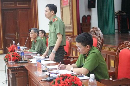 Công an tỉnh Đắk Lắk tổ chức Hội nghị giao ban công tác tháng 11/2019