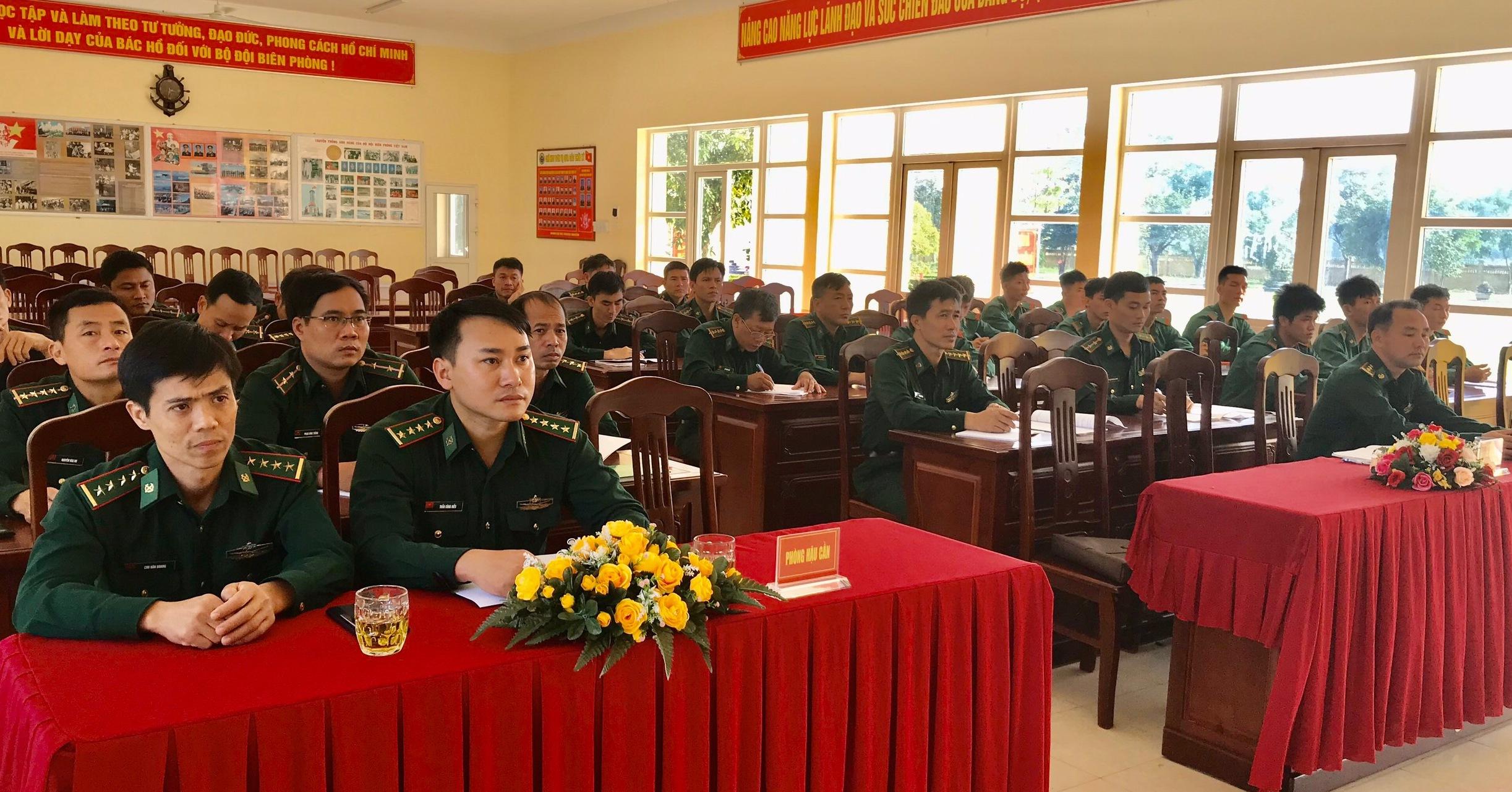 Bộ đội Biên phòng tỉnh Đắk Lắk tập huấn công tác hậu cần năm 2019