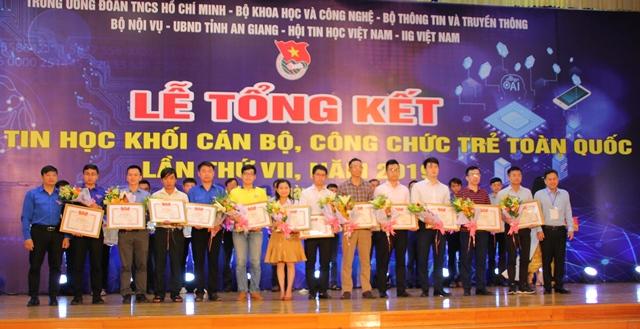 Đắk Lắk đạt 3 giải tại Hội thi Tin học khối cán bộ, công chức trẻ toàn quốc lần thứ VII-2019.