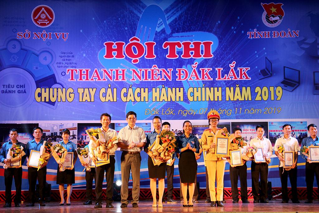 Buôn Ma Thuột giành giải Nhất toàn đoàn Hội thi Thanh niên Đắk Lắk chung tay cải cách hành chính năm 2019.