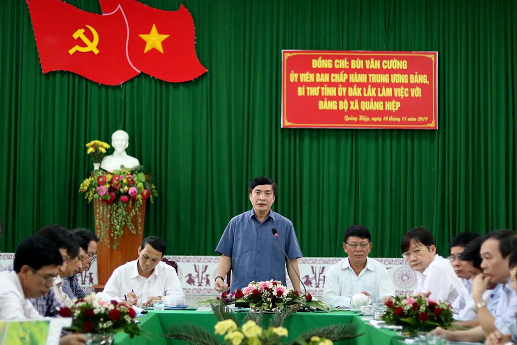 Phấn đấu đưa Quảng Hiệp trở thành xã nông thôn mới kiểu mẫu trong thời gian tới