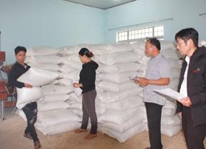 Cấp phát 53.520 kg gạo cho học sinh huyện Krông Bông