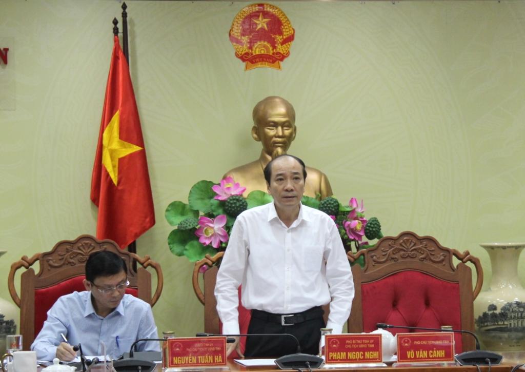 UBND tỉnh họp thông qua các nội dung trình Kỳ họp thứ 9, HĐND tỉnh khoá IX