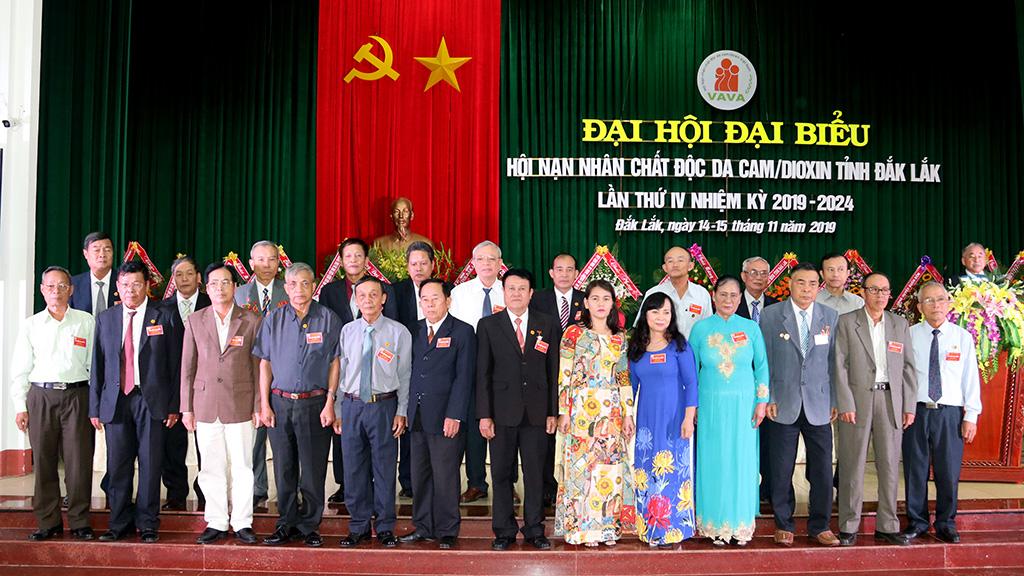 Đại hội Hội Nạn nhân chất độc da cam/dioxin tỉnh Đắk Lắk lần thứ IV