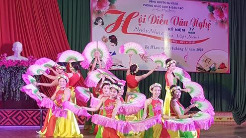 Hội thi văn nghệ truyền thống ngành Giáo dục và Đào tạo huyện Ea H'Leo