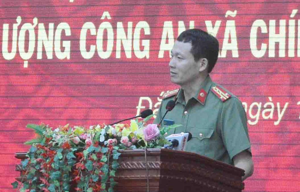 Đắk Lắk: 456 công an chính quy đảm nhiệm chức danh Công an xã