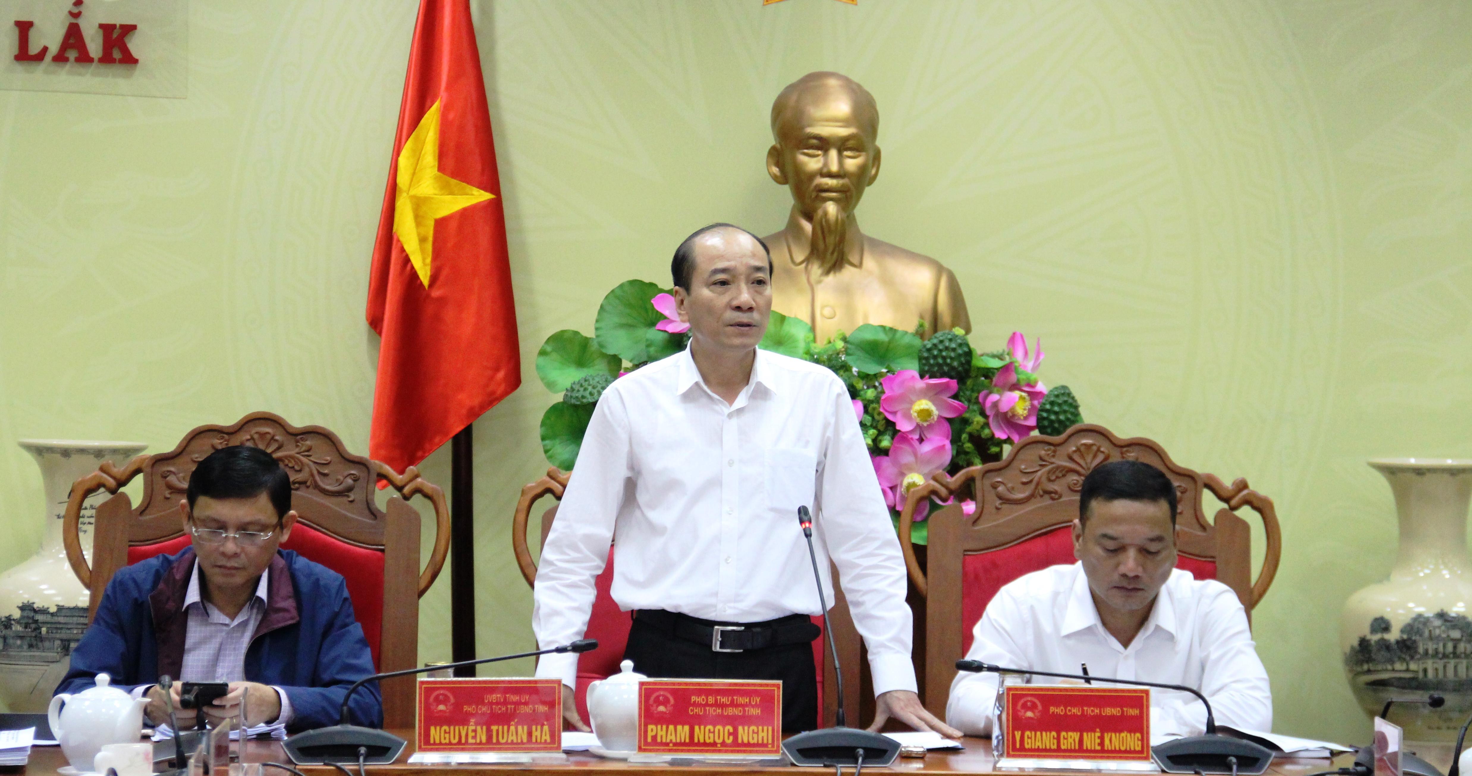 UBND tỉnh họp thông qua các nội dung trình kỳ họp thứ 9, HĐND tỉnh khóa IX