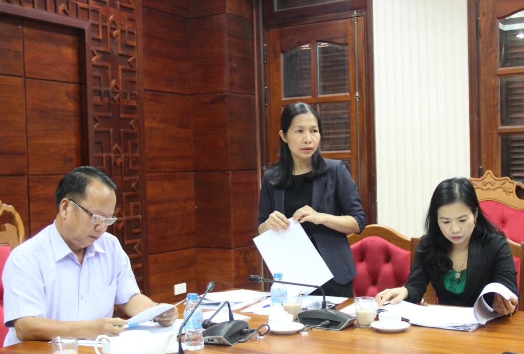 Ban Pháp chế thẩm tra Tờ trình, dự thảo Nghị quyết về giao chỉ tiêu biên chế năm 2020