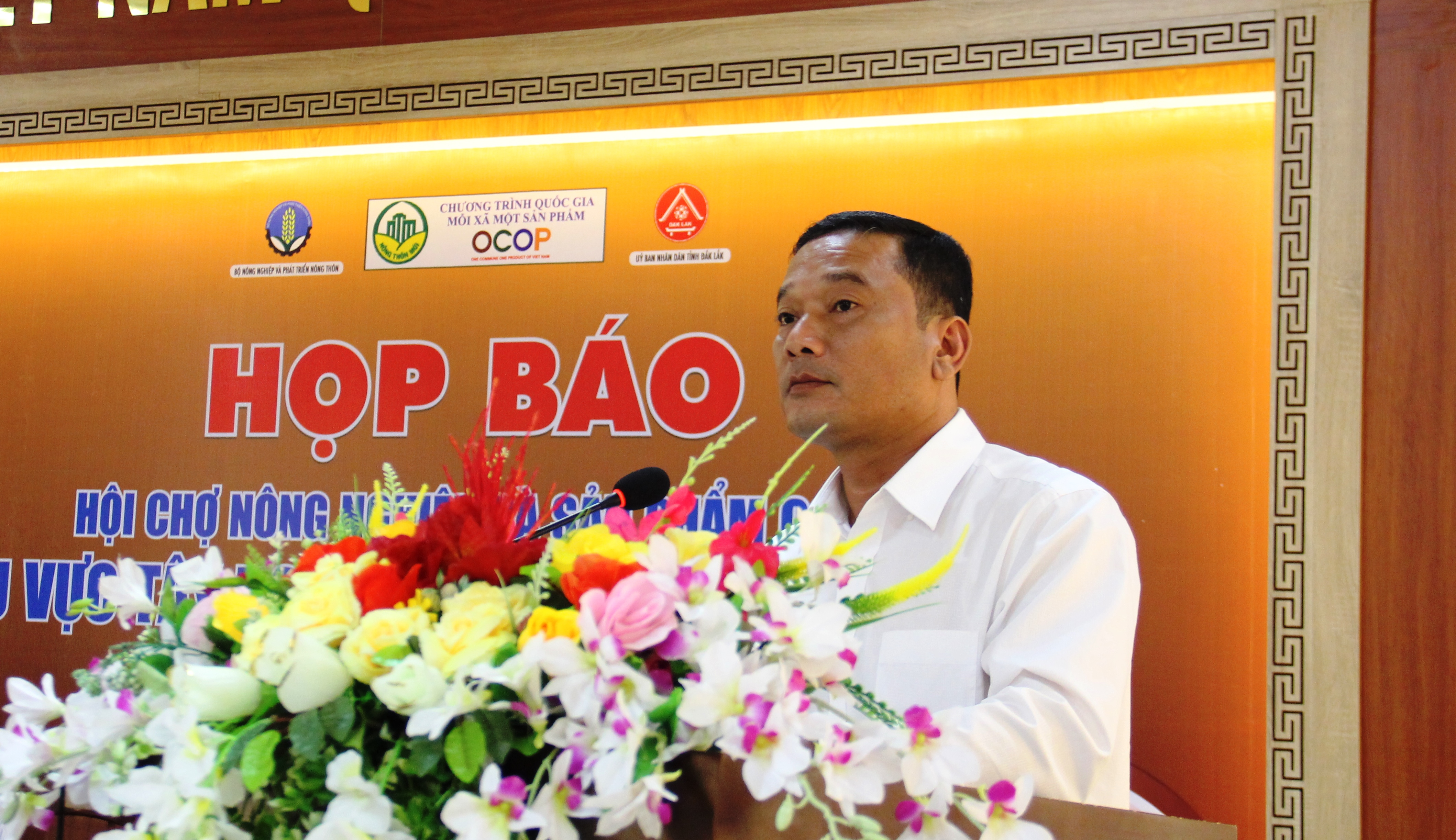 Họp báo Hội chợ nông nghiệp và sản phẩm OCOP khu vực Tây Nguyên tại Đắk Lắk năm 2019