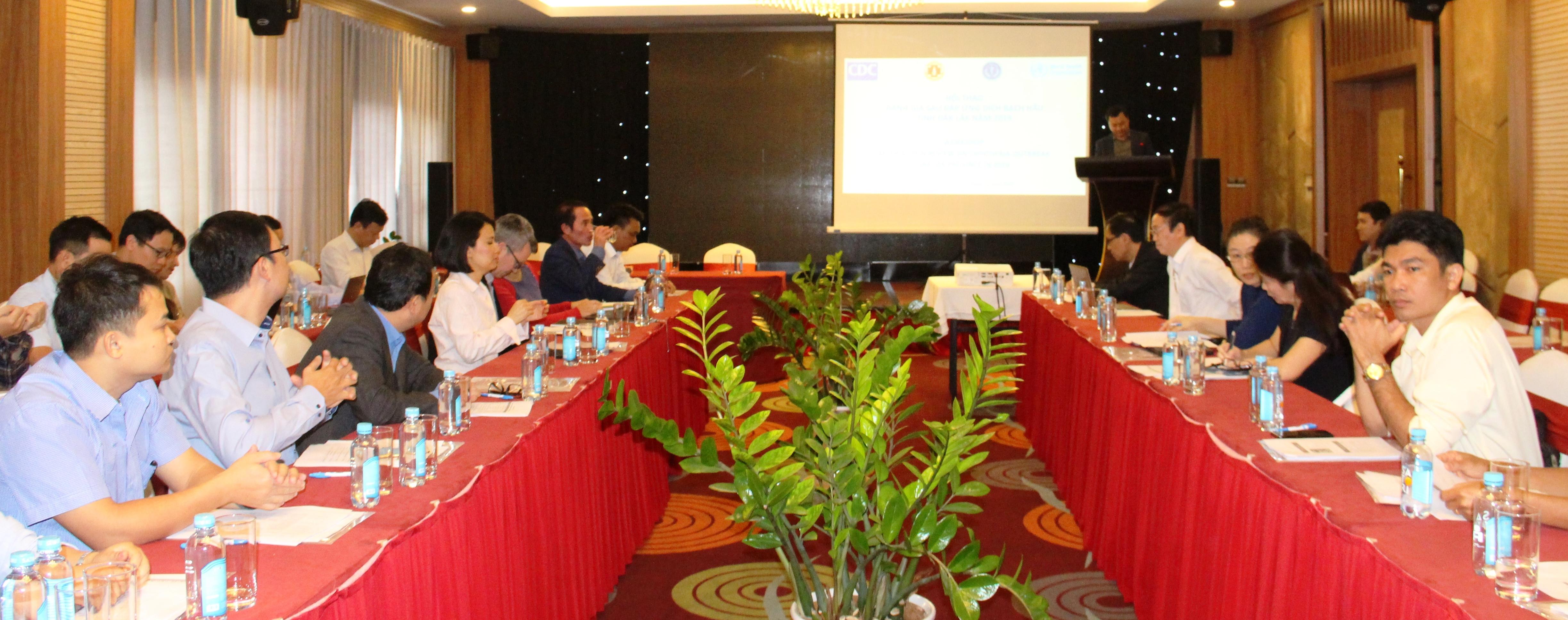 Hội thảo đánh giá sau đáp ứng dịch bạch hầu tại tỉnh Đắk Lắk năm 2019