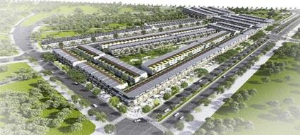 Giao đất để thực hiện dự án Khu đô thị