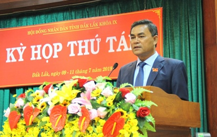 Kỳ họp thứ Chín, HĐND tỉnh Đắk Lắk khóa IX