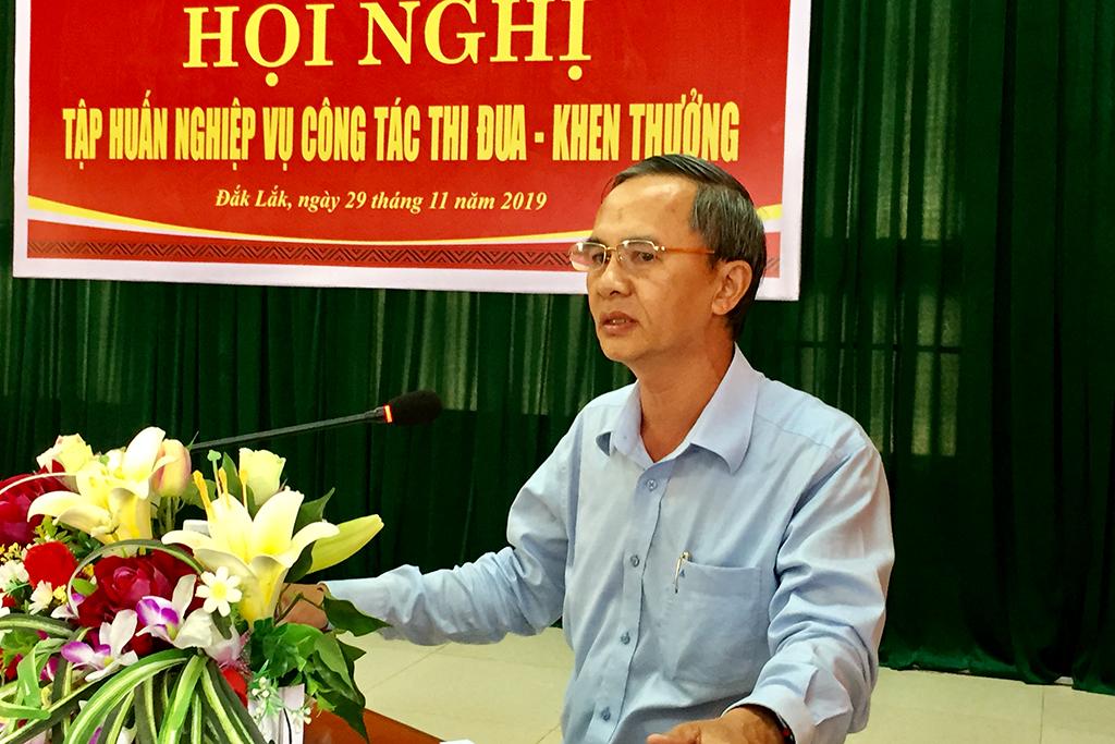 Đắk Lắk tập huấn công tác thi đua- khen thưởng năm 2019