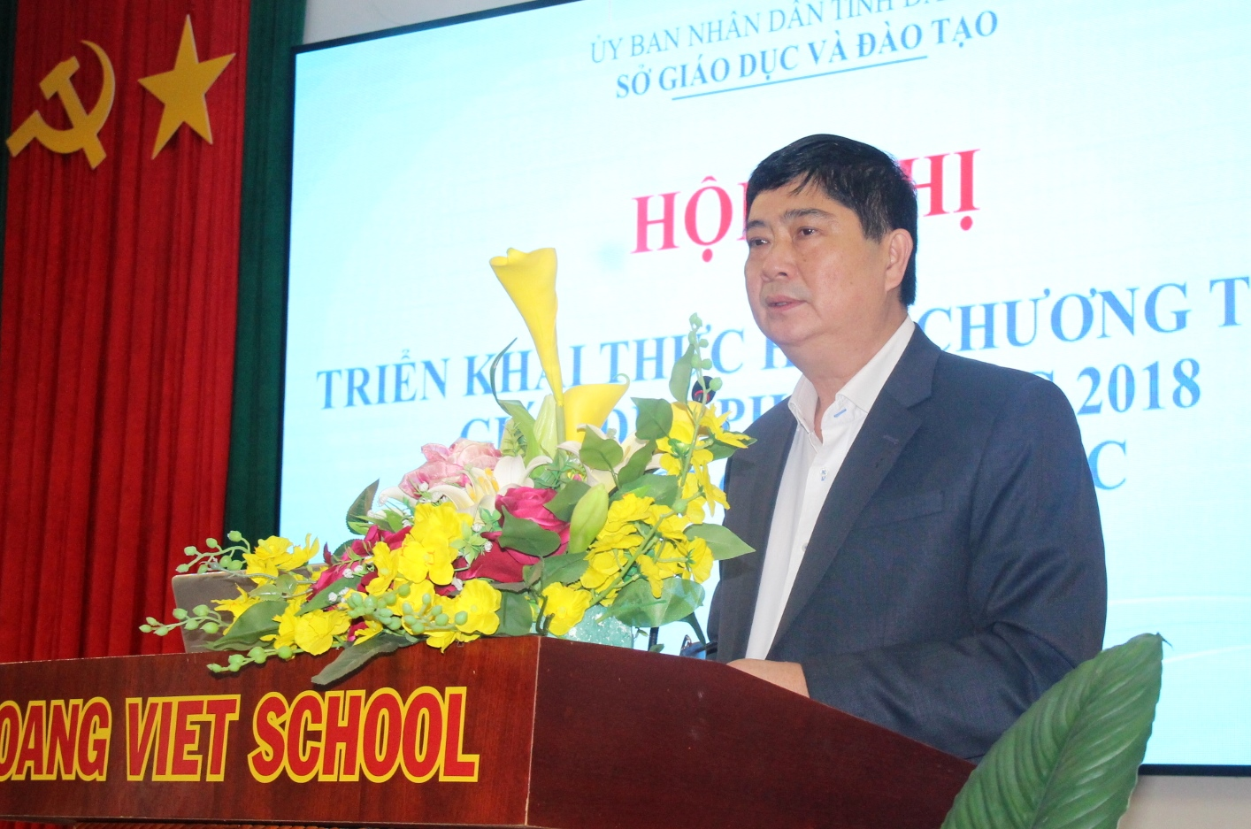 Triển khai thực hiện Chương trình giáo dục phổ thông năm 2018