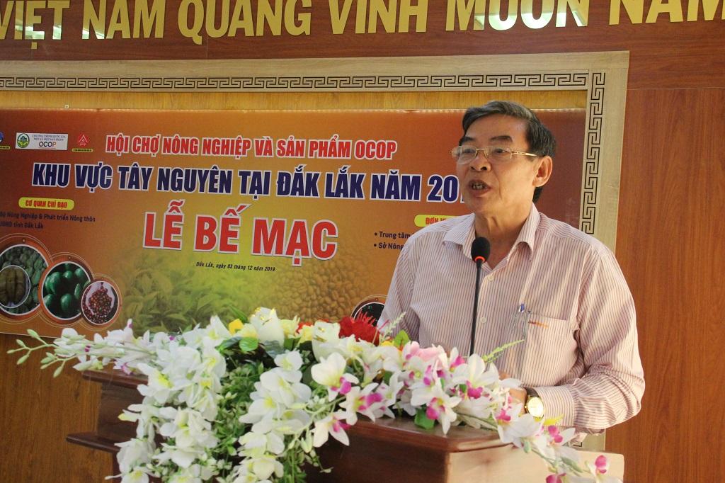 Bế mạc Hội chợ nông nghiệp và sản phẩm OCOP khu vực Tây Nguyên tại Đắk Lắk năm 2019
