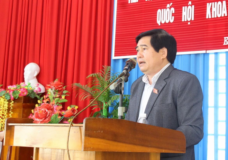 Đoàn Đại biểu Quốc hội tỉnh tiếp xúc cử tri huyện M'Đrắk