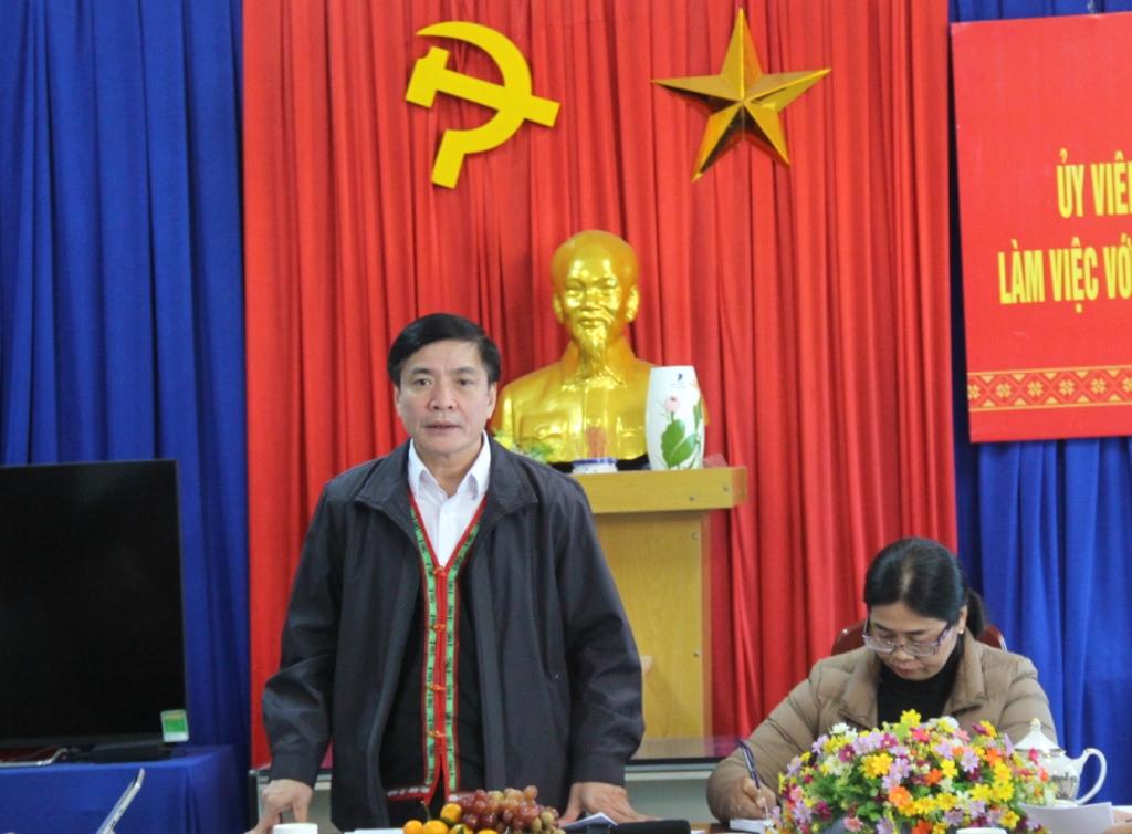 Thường trực Tỉnh ủy làm việc với Ủy ban Mặt trận Tổ quốc Việt Nam tỉnh
