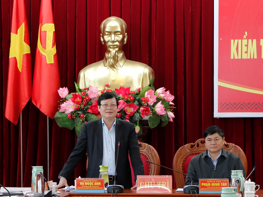 Kiểm tra tình hình thực hiện quy chế dân chủ tại tỉnh Đắk Lắk