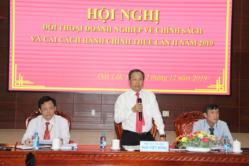 Hội nghị đối thoại doanh nghiệp về chính sách và cải cách hành chính thuế lần thứ II năm 2019