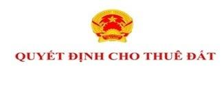 Cho Công ty cổ phần Đầu tư và Phát triển Nguyễn Kim thuê đất