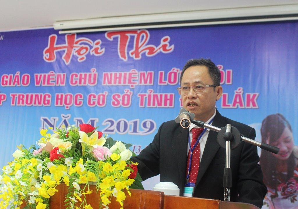 Khai mạc Hội thi giáo viên chủ nhiệm lớp giỏi cấp THCS tỉnh Đắk Lắk năm 2019