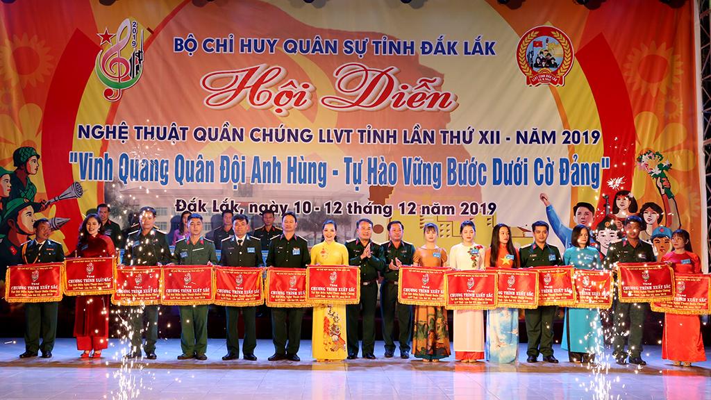 Bế mạc Hội diễn Nghệ thuật quần chúng lực lượng vũ trang tỉnh lần thứ XII, năm 2019