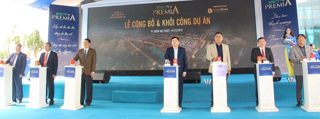 Khởi công Dự án Khu đô thị EcoCity Premia tại thành phố Buôn Ma Thuột tỉnh Đắk Lắk