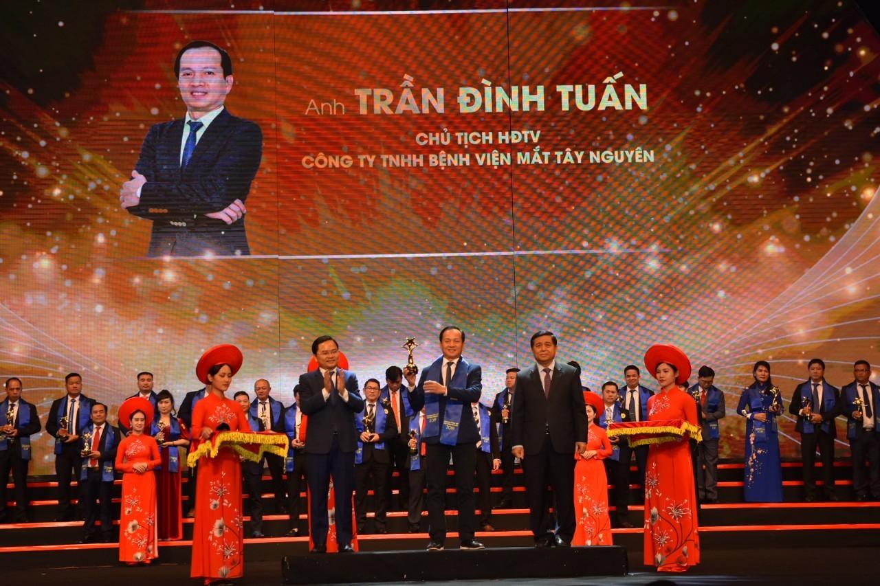 Đắk Lắk có một doanh nhân được trao giải thưởng Sao Đỏ - Doanh nhân trẻ Việt Nam tiêu biểu 2019