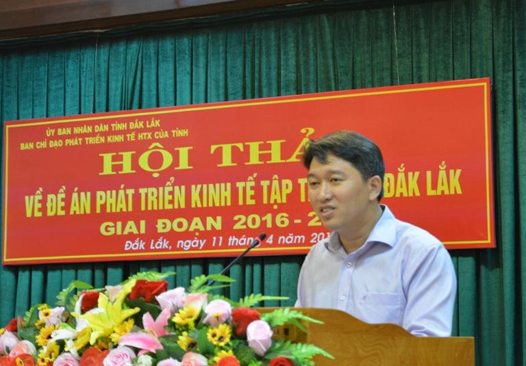 Hơn 36 tỷ đồng thực hiện Đề án phát triển kinh tế tập thể tỉnh Đắk Lắk giai đoạn 2016 - 2020.