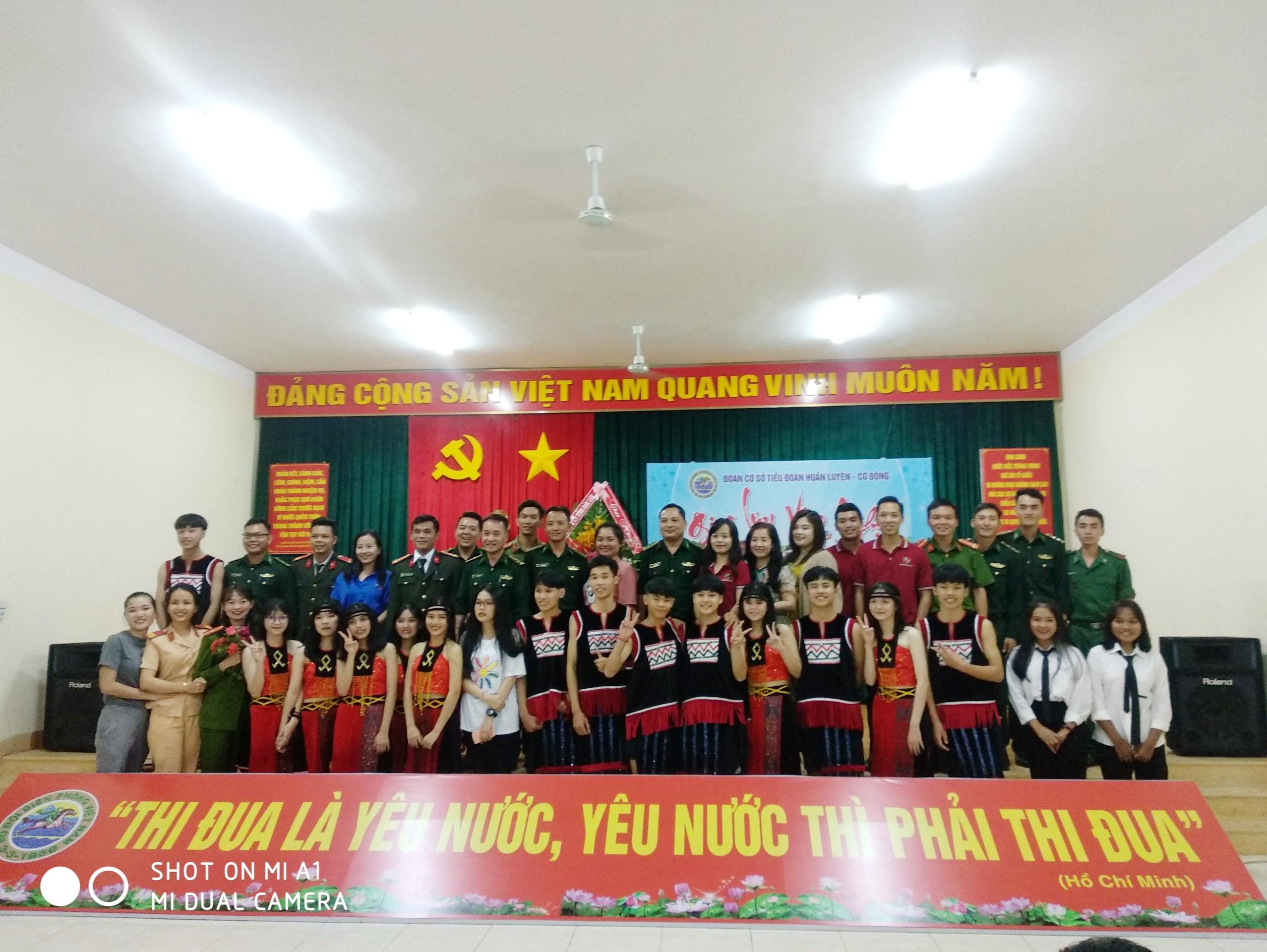 Agribank Đắk Lắk thăm, chúc mừng và giao lưu văn nghệ với Tiểu đoàn Huấn luyện cơ động,  Bộ đội Biên phòng - D19