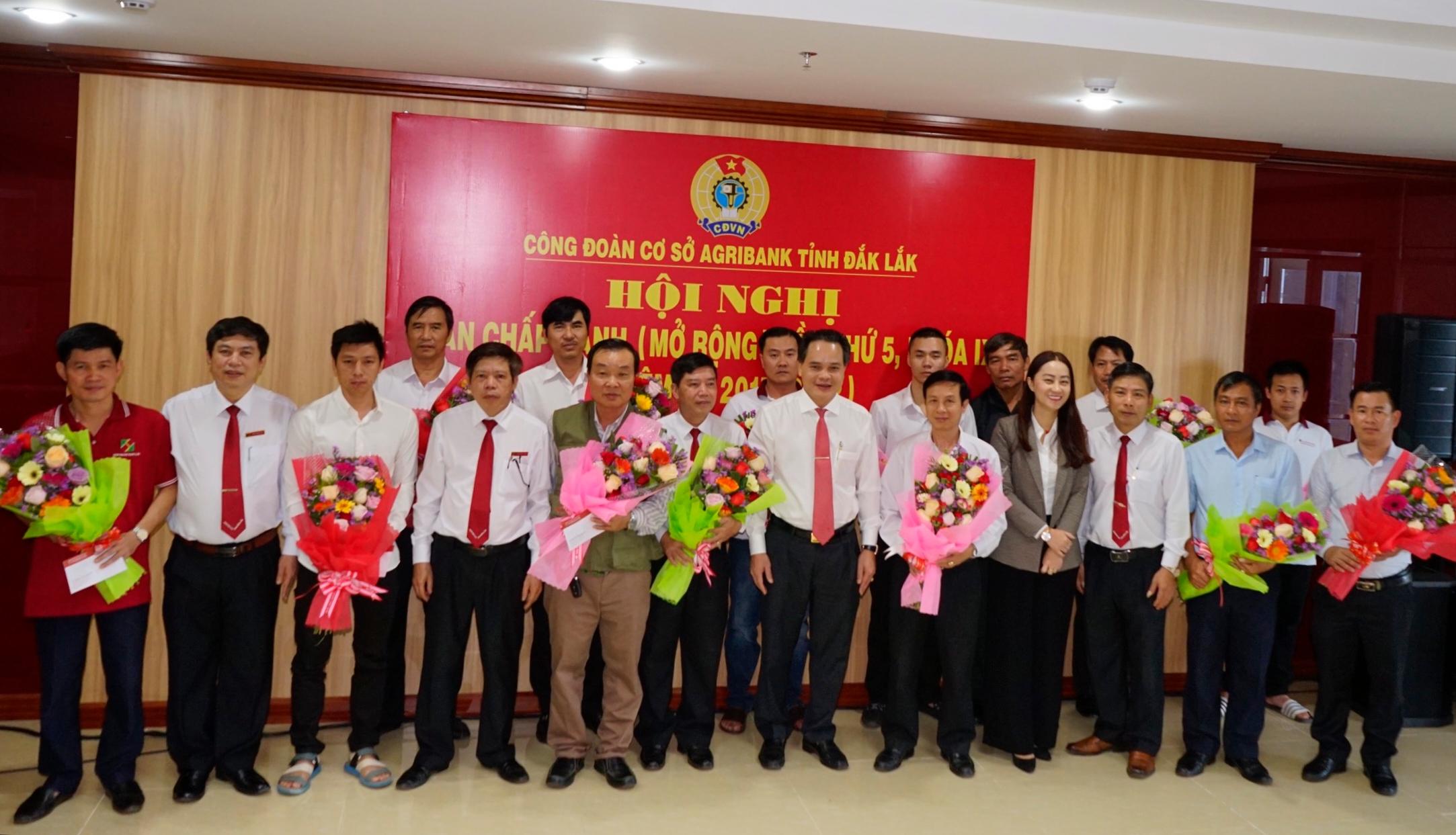 Agribank tỉnh Đắk Lắk gặp mặt cán bộ viên chức, người lao động trong đơn vị là bộ đội xuất ngũ