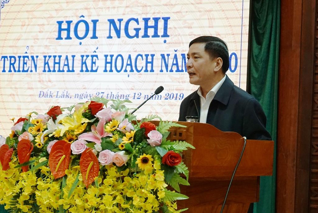 UBND tỉnh Đắk Lắk triển khai kế hoạch năm 2020