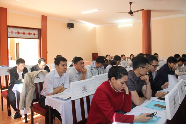 Tập huấn kỹ năng xúc tiến đầu tư cho Sở, ngành, địa phương trong tỉnh
