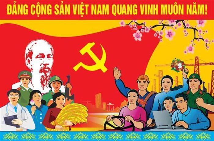 Tuyên truyền, kỷ niệm 90 năm Ngày thành lập Đảng Cộng sản Việt Nam và mừng Xuân Canh Tý