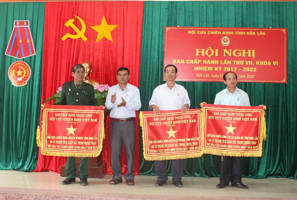 Hội nghị Ban Chấp hành Hội Cựu chiến binh tỉnh lần thứ VII