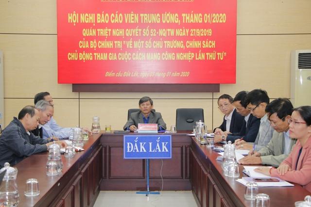 Ban Tuyên giáo Trung ương tổ chức Hội nghị trực tuyến toàn quốc tháng 1/ 2020.