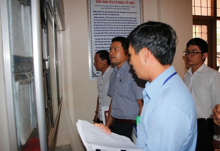 Huyện Ea H'leo: Gần 77% hồ sơ thủ tục hành chính được giải quyết trước thời hạn