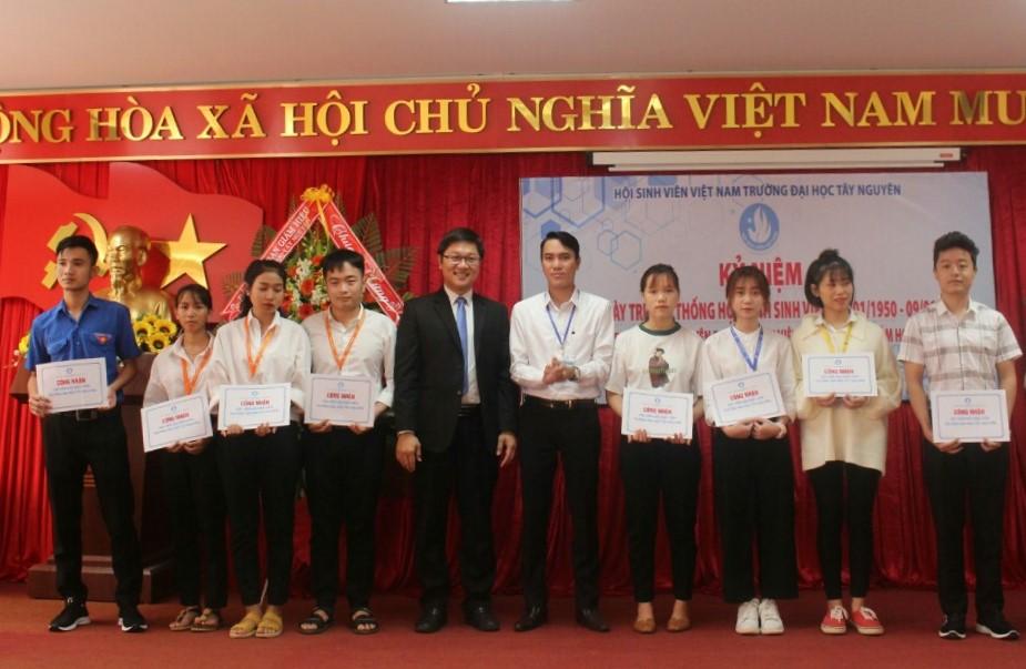 Hội Sinh viên Việt Nam Trường Đại học Tây Nguyên kỷ niệm 70 năm Ngày truyền thống học sinh, sinh viên