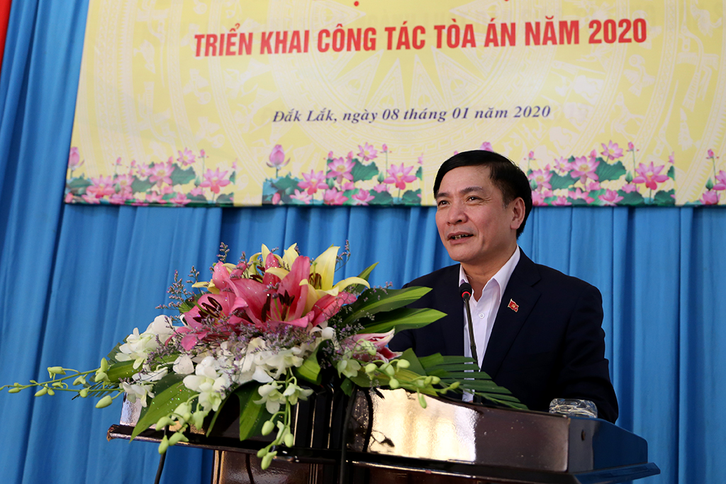 Tòa án Nhân dân tỉnh Đắk Lắk triển khai nhiệm vụ năm 2020